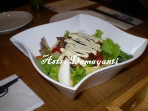 Chicken Salad Teriyaki