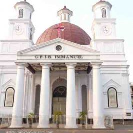 Blenduk Church: Holland style excotism in Semarang