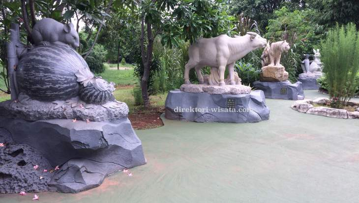 Taman Shio Taman Mini Indonesia Indah